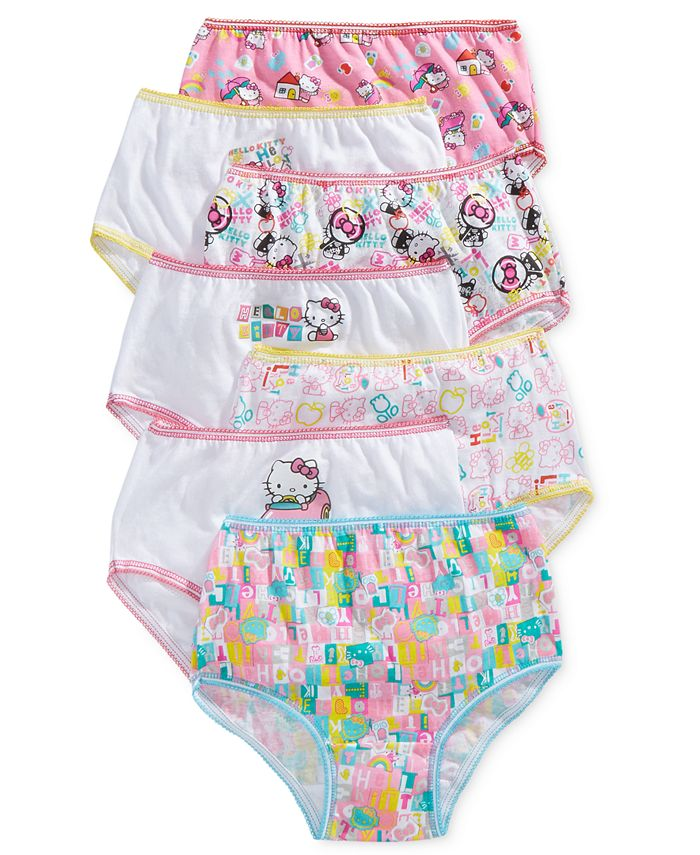 Disney - Kids Underwear, Little Girls Hello Kitty Seven-Pack
