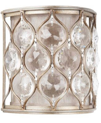 Dale Tiffany Lighting, Crystal Wall Sconce - Lighting & Lamps