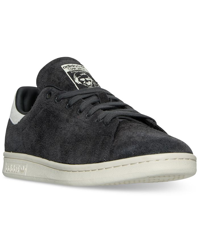 adidas Men's Stan Smith Suede Bounce Casual Sneakers from Finish ...