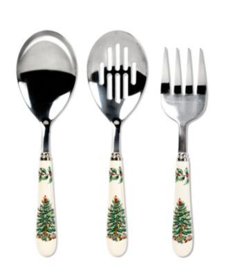 Spode Serveware, Christmas Tree 3 Piece Serving Set