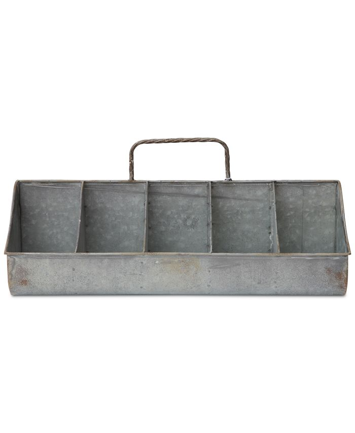3R Studio - Tin Organizer with 10 Compartments