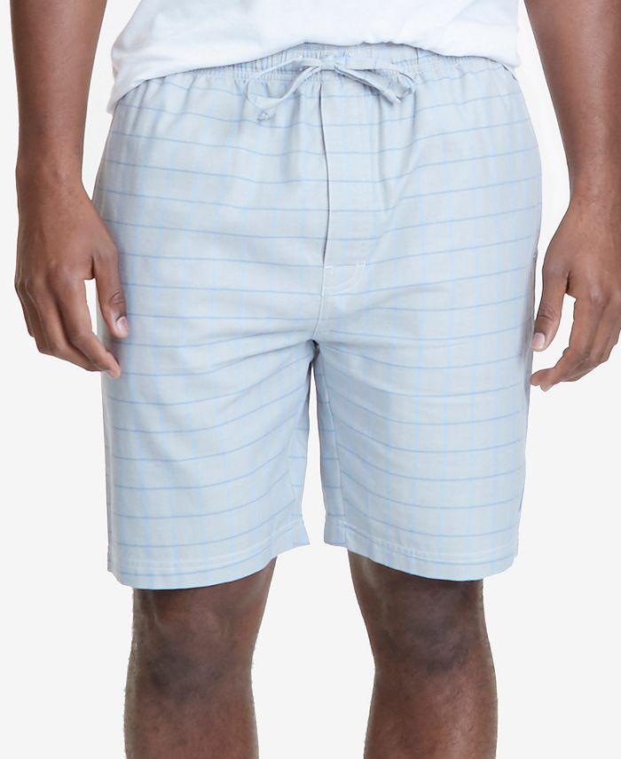 Nautica - Men's Herringbone Cotton Pajama Shorts