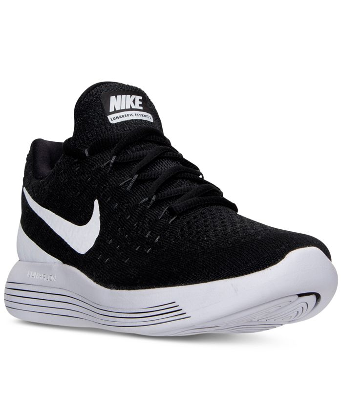 Extraordinario Correspondiente a proteína  Nike Men's LunarEpic Low Flyknit 2 Running Sneakers from Finish Line &  Reviews - Finish Line Athletic Shoes - Men - Macy's