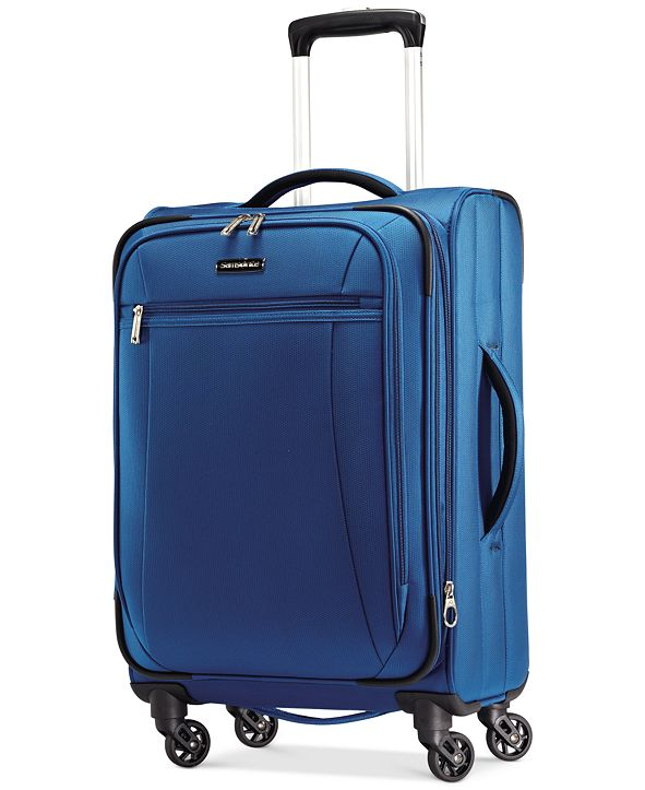 """Samsonite CLOSEOUT! X-Tralight 21"""" Softside Carry-On Spinner, Created for Macy's"""