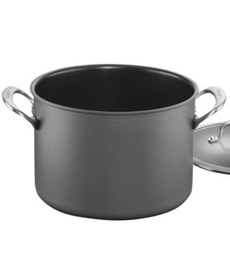 Cuisinart DS Anodized 8 Qt. Covered Stockpot