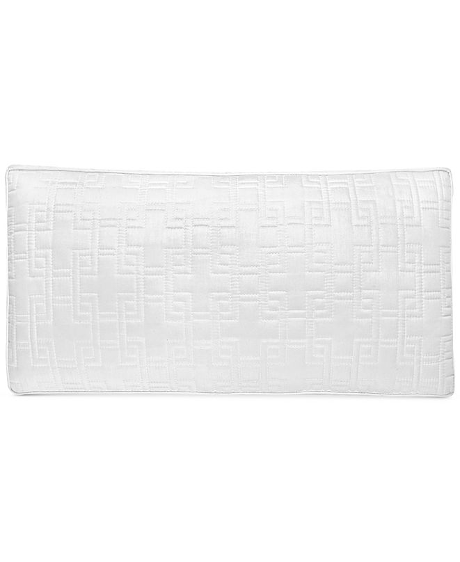 """Hotel Collection Embroidered Frame 10"""" x 20"""" Quilted Decorative Pillow, Created for Macy's"""