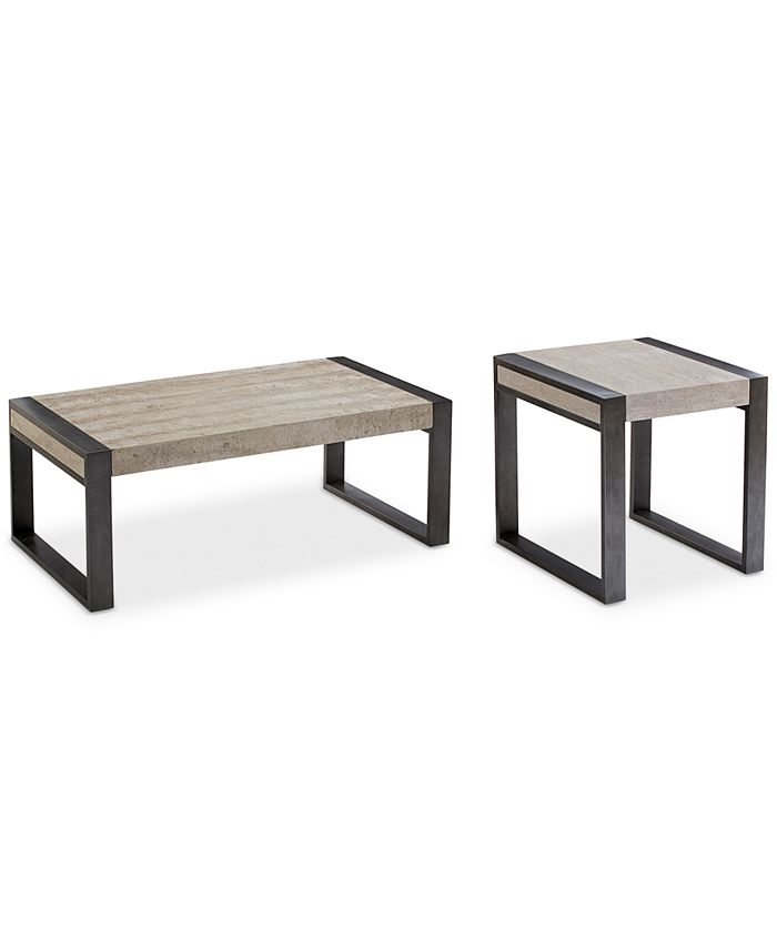 Bernhardt Ainsworth Table Furniture Set 2 Pc Set Coffee Table End Table Created For Macy S Reviews Furniture Macy S