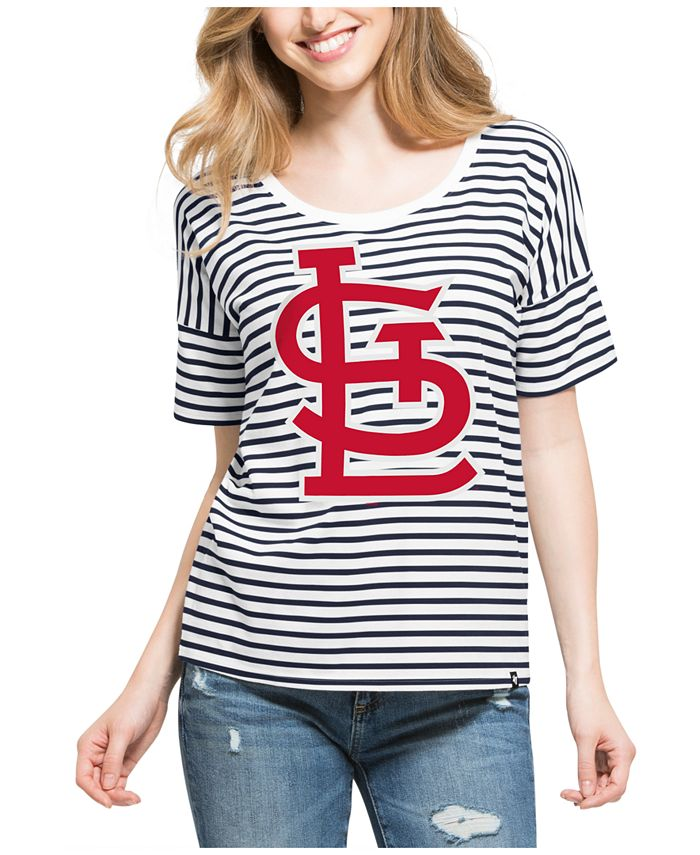 '47 Brand - Women's Coed Stripe T-Shirt