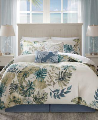 Lorelei 6-Pc. Palm Print Full Comforter Set