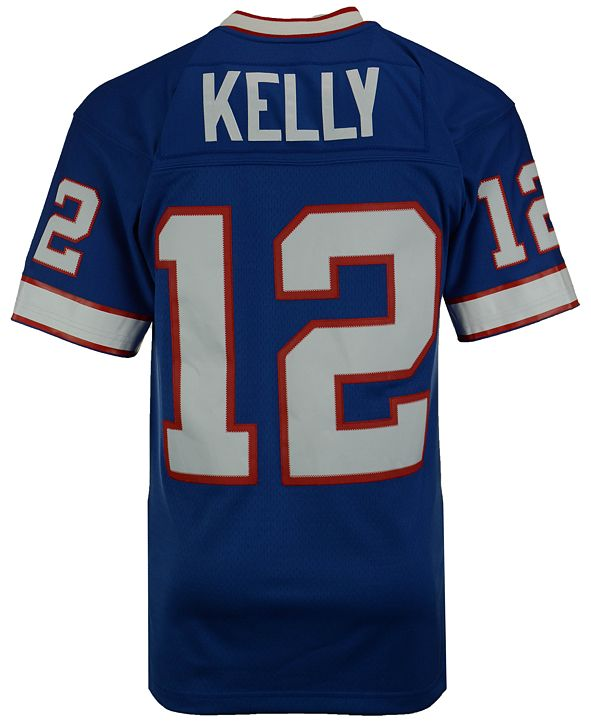 Mitchell & Ness Men's Jim Kelly Buffalo Bills Replica Throwback Jersey