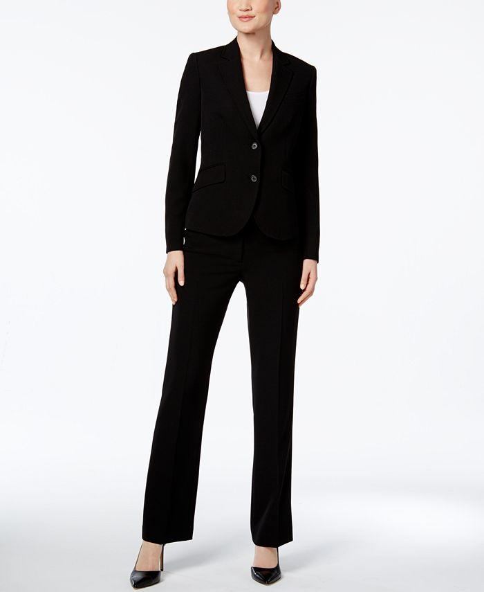 Anne Klein - 3-Pc. Pants and Skirt Suit Set