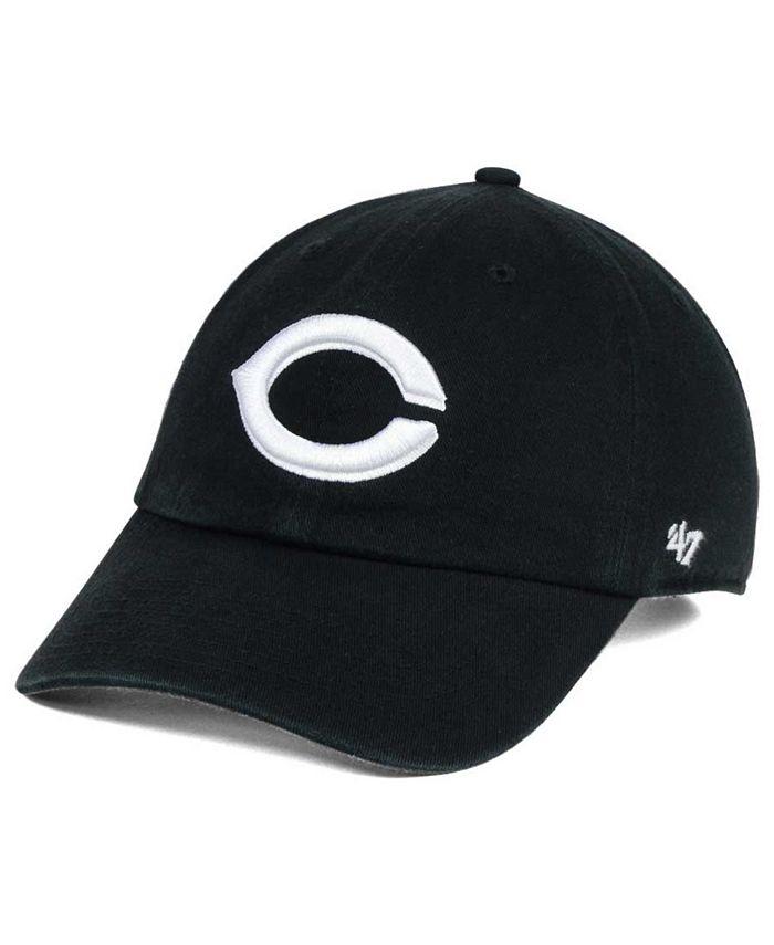 '47 Brand - Black White Clean Up Cap