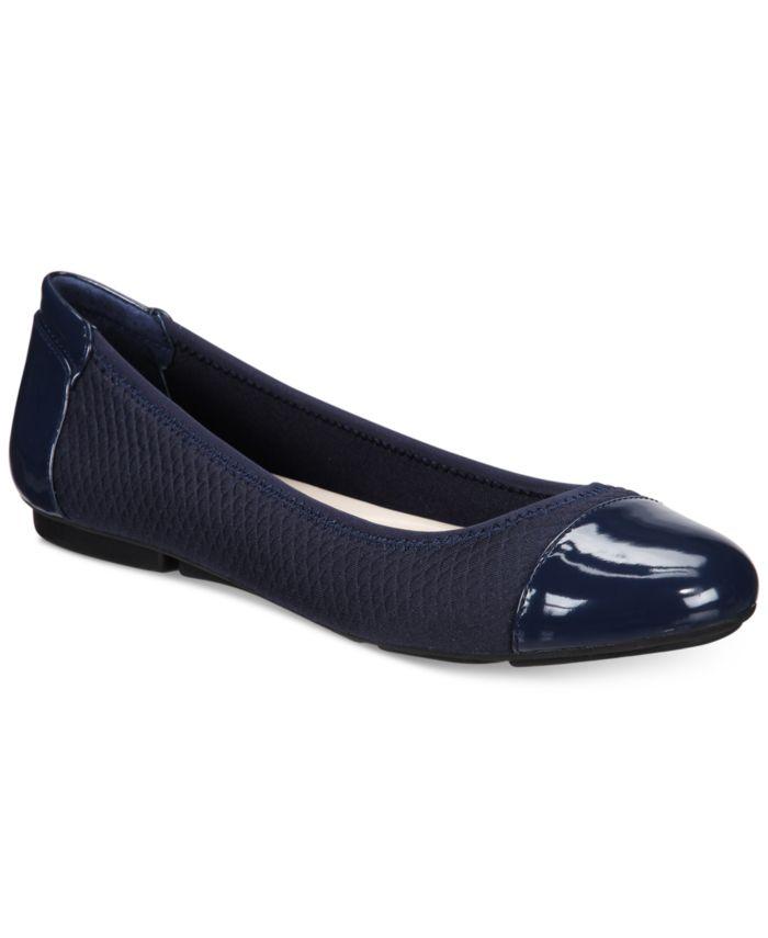 Alfani Women's Step 'N Flex Tavii Flats, Created for Macy's & Reviews - Flats - Shoes - Macy's