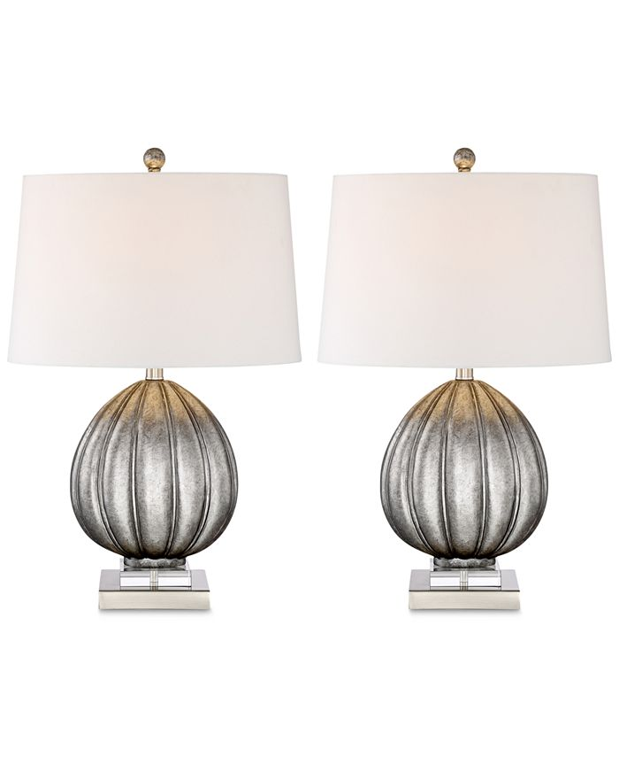 Kathy Ireland - Set of 2 Harby Table Lamps