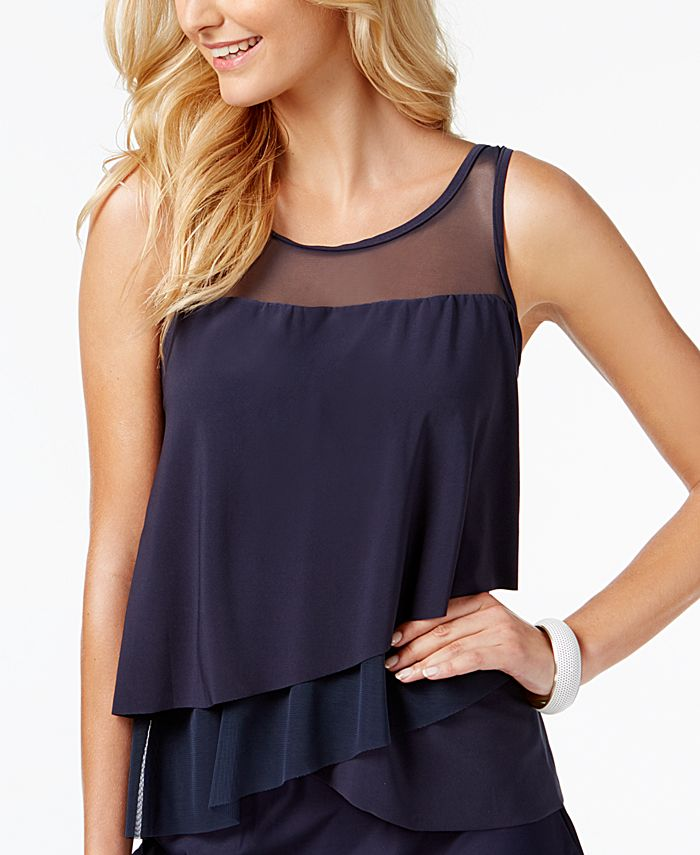 Miraclesuit - Illusionists Mirage Tiered Tankini Top