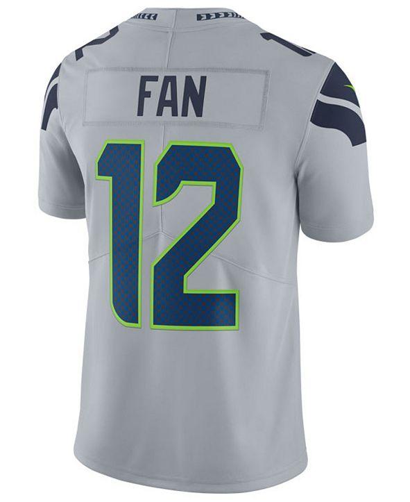 Nike Men's Fan #12 Seattle Seahawks Vapor Untouchable Limited Jersey
