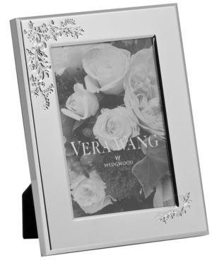 """Vera Wang Picture Frame, Vera Lace Bouquet 4"""" x 6"""""""