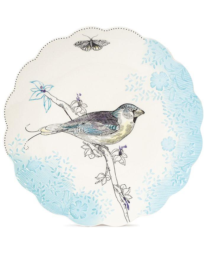 Edie Rose by Rachel Bilson - Edie Rose Dinnerware, Bloom Bird Salad Plate