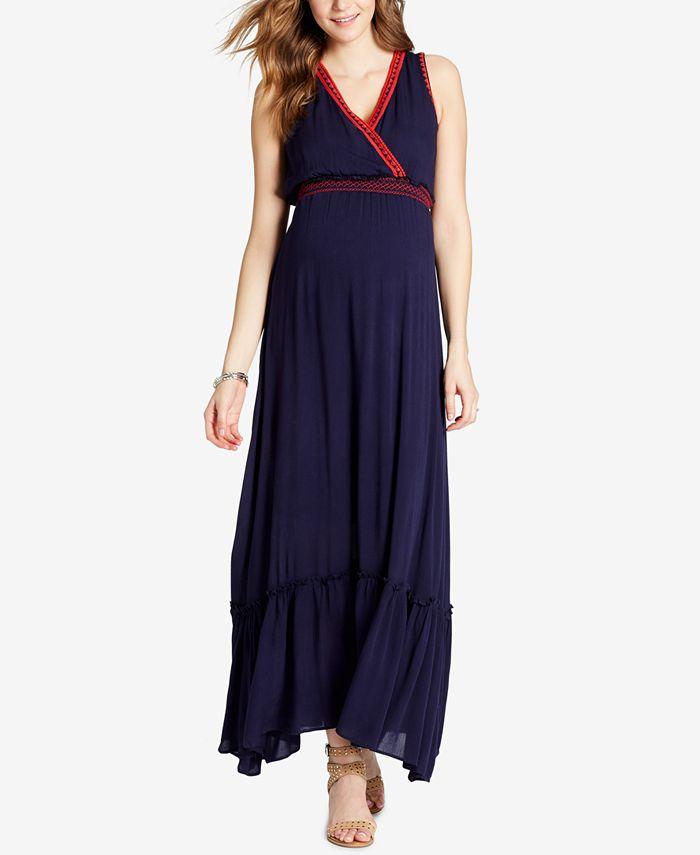 Jessica Simpson - V-Neck Maxi Dress