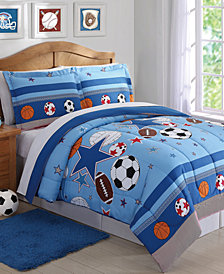 My World Sports & Stars Reversible 2-Pc. Twin Comforter Set