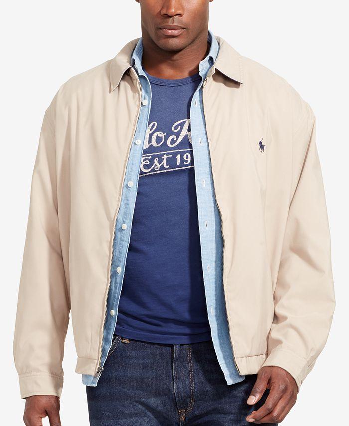 Polo Ralph Lauren - Big & Tall Jacket, Bi Swing Windbreaker