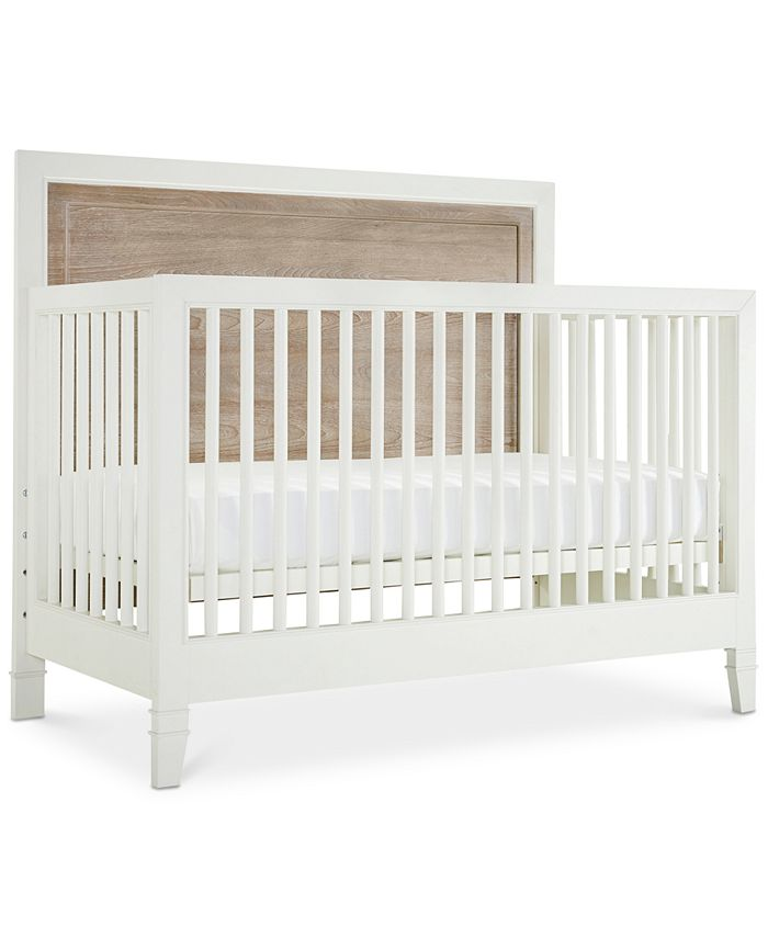 Furniture Avery Baby 4 In 1 Convertible Crib Convertible Crib Bed Rails Slat Roll Footboard Reviews Furniture Macy S