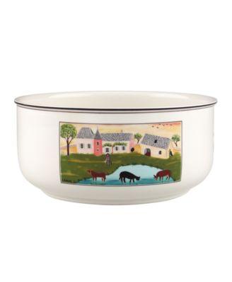 Villeroy & Boch Dinnerware, Design Naif Round Vegetable Bowl Cows