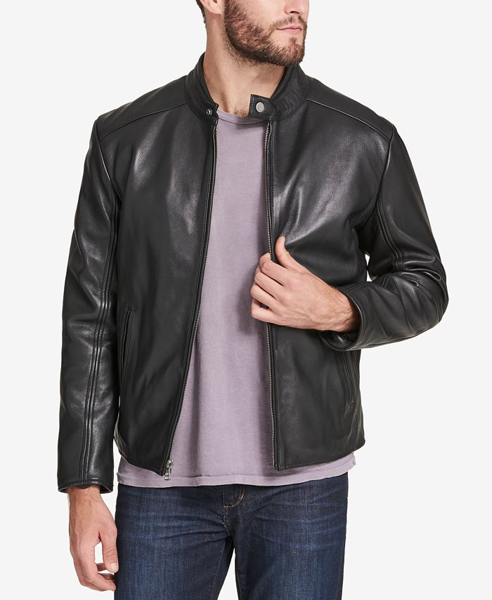 Marc New York - Men's Leather Moto Jacket
