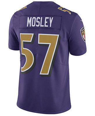Nike Men's C.J. Mosley Baltimore Ravens Limited Color Rush Jersey ...