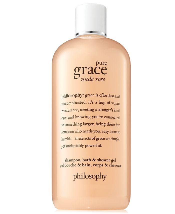 philosophy - Pure Grace Nude Rose Shower Gel, 16-oz.