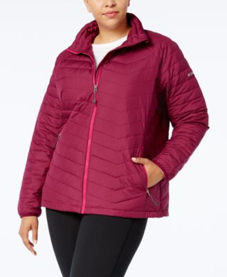Columbia Plus Size Oyanta Trail Insulated Active Jacket