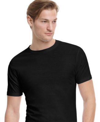 Image of alfani men's crew-neck Undershirt