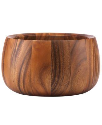 Dansk Wood Serveware, Tulip Salad Bowl