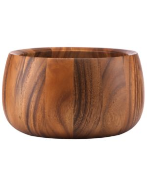 Closeout! Dansk Wood Serveware, Tulip Salad Bowl