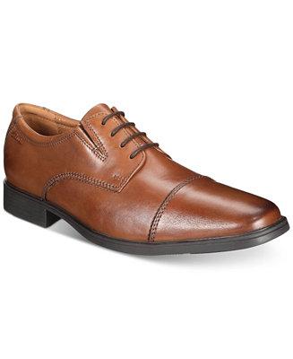 Mirar Pronunciar llorar  Clarks Men's Tilden Cap Toe Oxford & Reviews - All Men's Shoes - Men -  Macy's