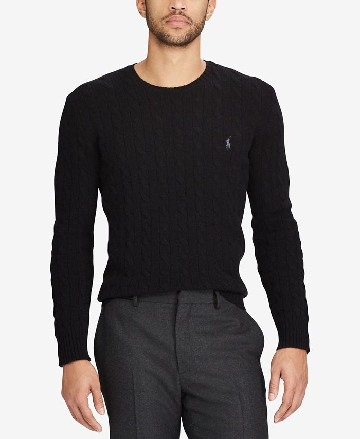 Polo Ralph Lauren - Men's Cable-Knit Sweater