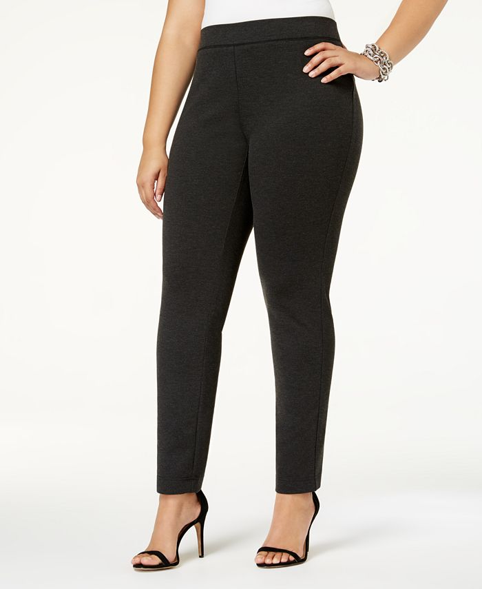 INC International Concepts - Plus Size Skinny Pull-On Pants