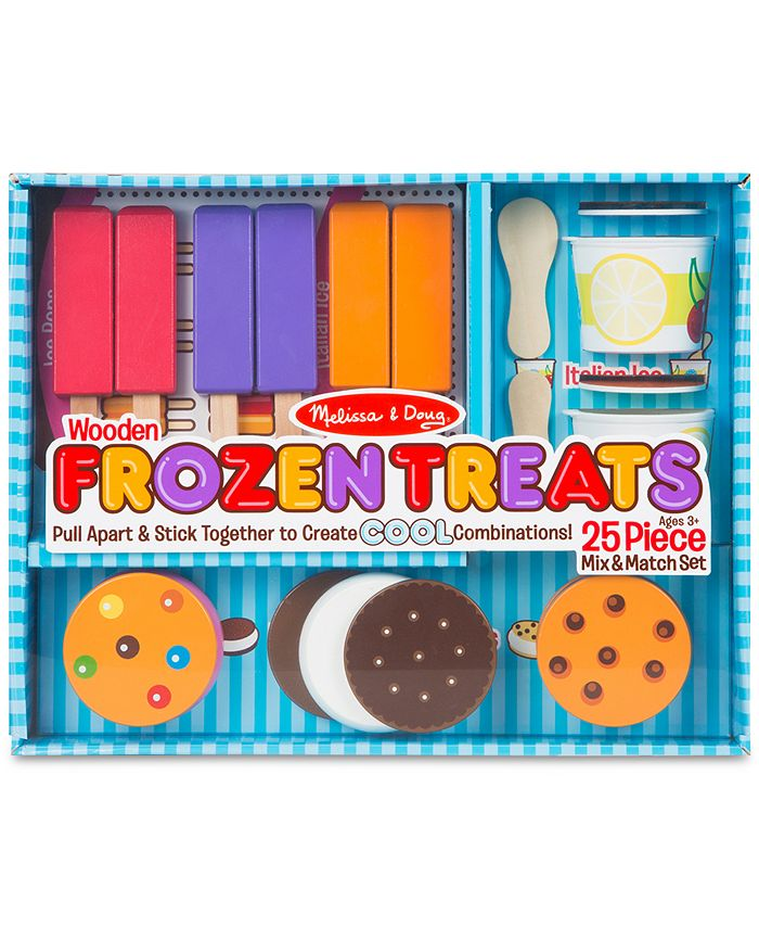 Melissa and Doug - Wooden Frozen Treats Set