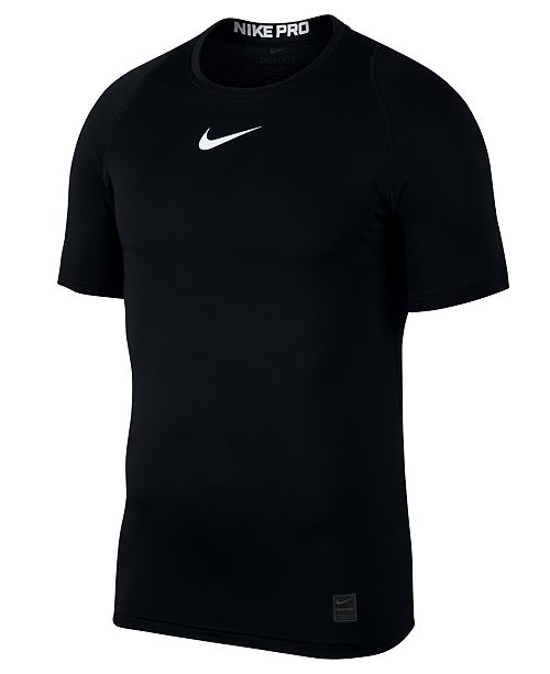 Nike Men's Pro Dri-FIT Fitted T-Shirt & Reviews