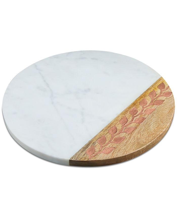 Thirstystone - Marble & Wood Board