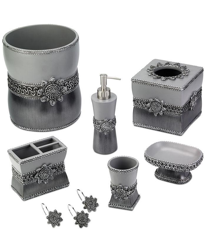 Avanti Braided Medallion Granite Bath Accessories Reviews Bathroom Bed Macy S