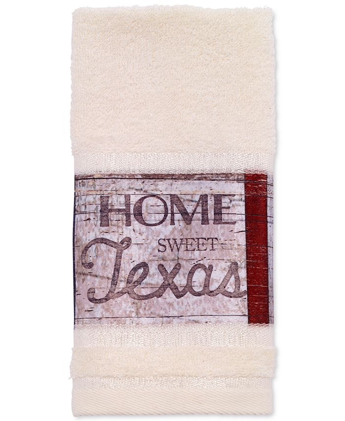 Avanti - Home Sweet Texas Fingertip Towel