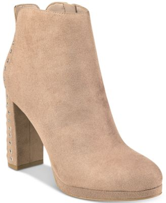 Beverly Platform Ankle Booties
