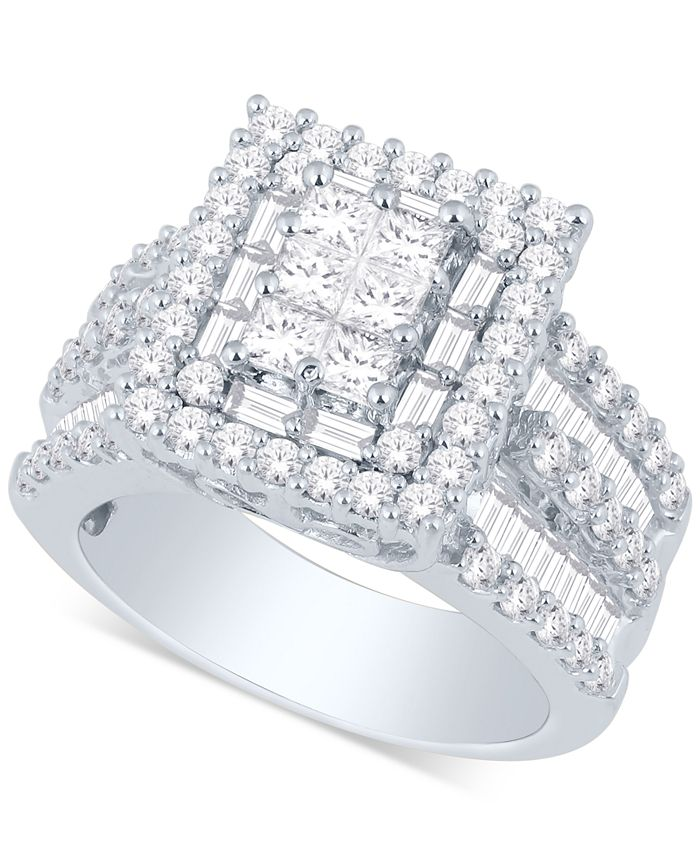 Macy's - Diamond Ring (3 ct. t.w.) in 14k Gold or White Gold