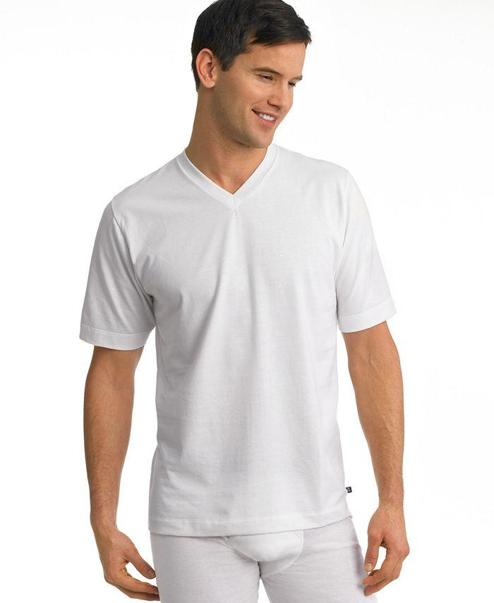 Jockey - Men's Staycool Big Man V-Neck T-Shirt 2-Pack