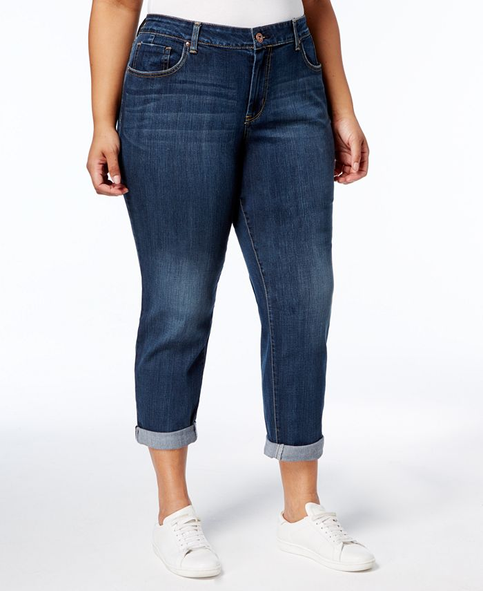 Jessica Simpson - Trendy Plus Size Skinny Ankle Jeans