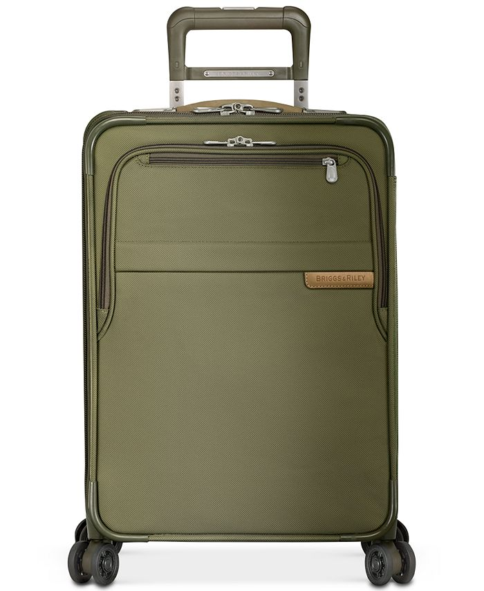 "Briggs & Riley - Baseline 22"" Expandable Carry-On Spinner Suitcase"