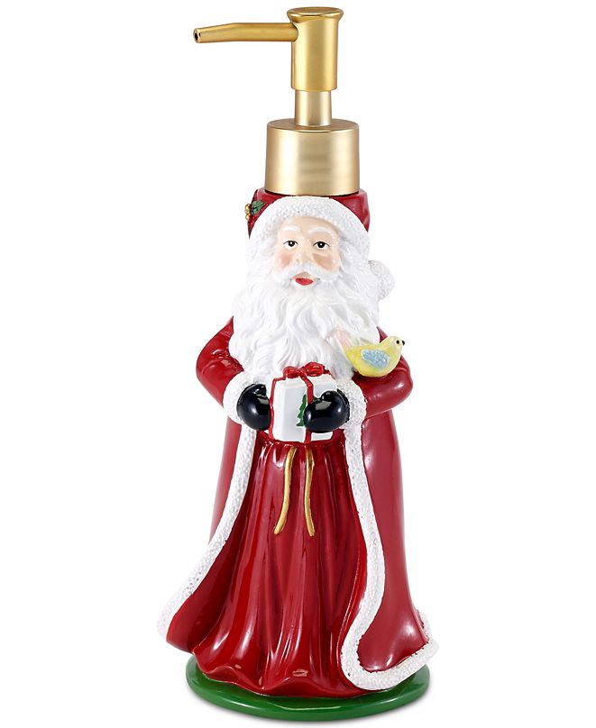 Spode Christmas Tree Santa Lotion Pump