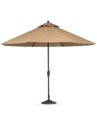 Paradise Outdoor 9' Auto-Tilt Umbrella - Furniture - Macy's