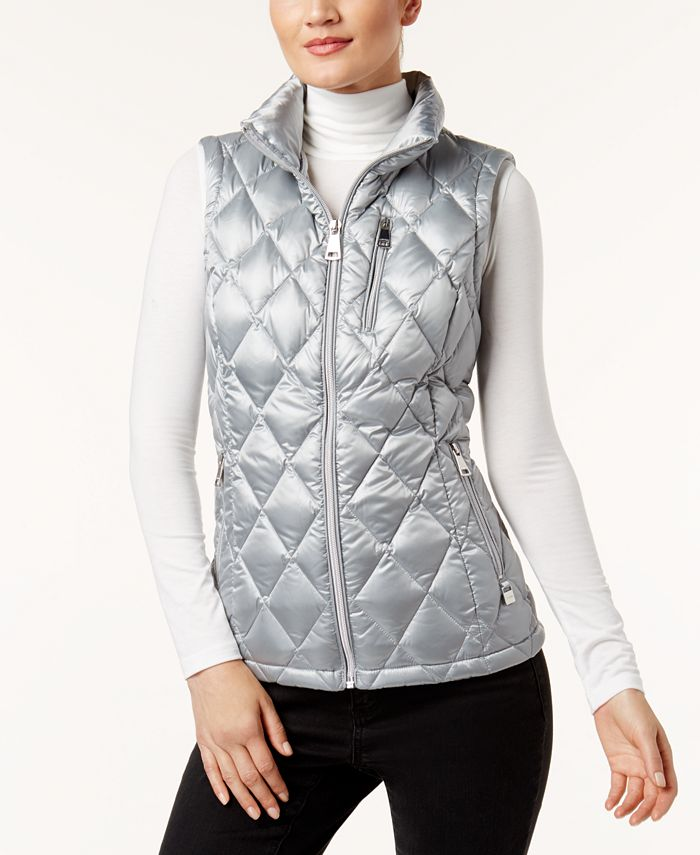 Calvin Klein - Metallic Quilted Vest